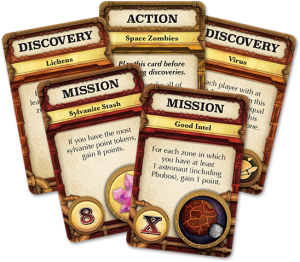 Mission: Red Planet Mission Cards