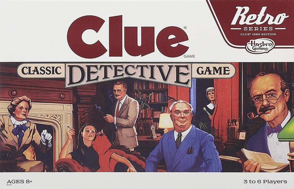 Clue the Board Game