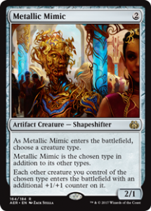 Magic: The Gathering Metallic Mimic