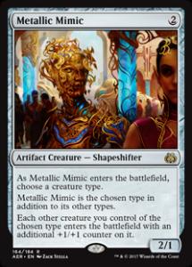 Magic: The Gathering Metallic Mimic